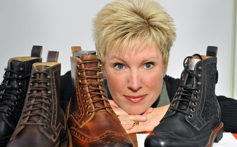 Commercial photography by Peter Ashby-Hayter: business portrait with boots